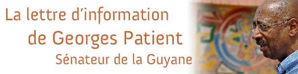 Georges Patient, La lettre d'information