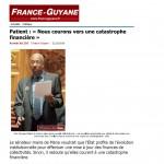 Patient : « Nous courons vers une catastrophe financière »