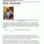 Article de France-Guyane du 26 novembre 2011